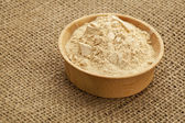 Maca root powder — Stock Photo
