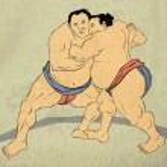 ������, ������: Japanese sumo wrestler