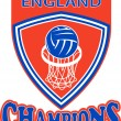 Netball champions England - Stock Photo