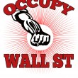 Occupy Wall Street American Worker — Stock Photo