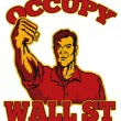 Occupy Wall Street American Worker - Photo
