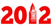 London Big Ben Clock Tower 2012 — Stock Photo