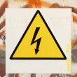 Danger symbol — Stock Photo