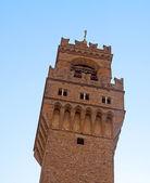 Tower of Palazzo Vecchio — Stock Photo