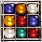 Kolorowe bombki — Zdjęcie stockowe