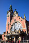 Main Railway Station in Gdansk — Stock Photo