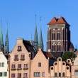 Stock Photo: old town in gdansk