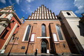 St. John Archcathedral in Warsaw — Stock Photo