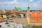 Old Town and Royal Castle — Stock Photo