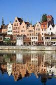 Gdaňsk nábřeží — Stock fotografie