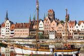 Gdansk in Poland — Stock Photo
