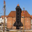 The Crane in Gdansk — Stock Photo #7220870