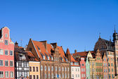 Tenement Houses in Gdansk — Stock Photo