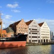 City of Gdansk Waterfront — Stock Photo