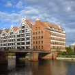 Granaries in Gdansk — Stock Photo