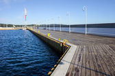 Marina Sea Pier — Stock Photo
