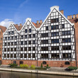 Granaries in Gdansk — 图库照片 #7389175