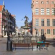 Gdansk Old Town - Stock Photo