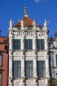 Golden House in Gdansk — Stock Photo