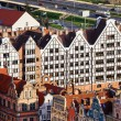 Gdansk Granaries — Stock Photo