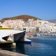Los Cristianos in Tenerife - Stock Photo