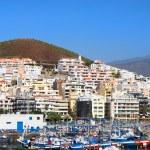 Los Cristianos in Tenerife — Stock Photo