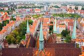 Cidade velha de Gdansk — Fotografia Stock