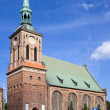 Church of Saint Barbara in Gdansk — Stock Photo