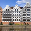 Granary Island in Gdansk — Stock Photo