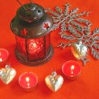 Christmas lamp — Stockfoto #7553217