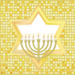 Glad background to the Jewish holiday - Stock Vector