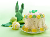 Curd easter pie — Stock Photo