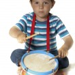 Playing drum — Stock Photo #7949516