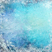 Blue Christmas grunge texture background — Stock Photo