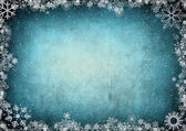 Frame from snowflakes with space for text — Stock Photo