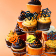 Halloween cupcakes — Stock Photo #6888718