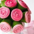 Cupcake bouquet — Stock Photo