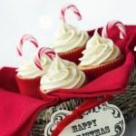Christmas cupcakes — Stock Photo #7884169