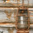 The old kerosene lamp — Stock Photo