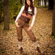 Autumn fashion - Stock Photo