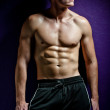 Male fitness - Stock Photo
