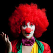 Colorful clown - Stok fotoğraf