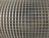 Metal mesh, folded in a roll — Stock Photo