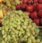 пучки спелый виноград — Стоковое фото