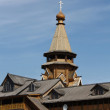 Wooden tower in Izmailovo Kremlin — Stockfoto #7139109