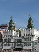 Izmailovo Kremlin towers — Stock Photo