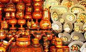 Souvenirs - hohloma cups — Stock Photo