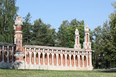 The Curly Gate (Grape's Gate) of the Park Tsaritsyno — Stock Photo