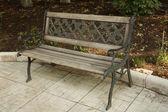 孤独的长椅 — 图库照片