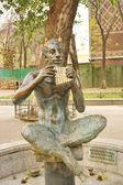 """Fountain """"Satyr"""" — Stock Photo"""